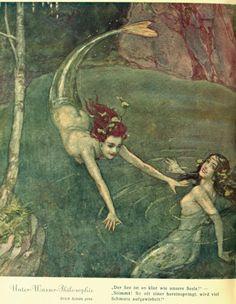 """Erich Schütz (1886-1937), 'Unter-Wasser-Philosophie', """"Mocca"""", #12, 1934"""