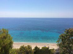 Pefkoulia beach #lefkada #lefkas #greece #ioniansea #holidays #summer