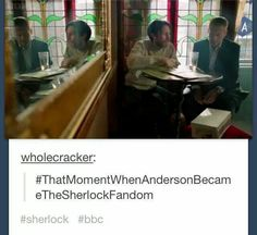 Being an Anderson was an insult. Now it's a compliment...yet another thing that has happened before season 3