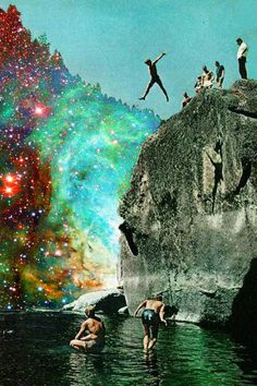 ive done this in NM at the blue hole...i remember little boys jumping and i jumped cuz if they could so could I