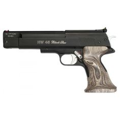 http://www.livens.co.uk/index.asp?selection=detailed&uid=1889&cg=118&mc=1133&cct=&sc=1659 Weihrauch have introduced the brilliant HW 45, a spring powered air pistol available in .177 and .22 that provides recoil free shooting while retaining ultimate accuracy with its rifled barrel. Livens Ltd, 101 High Street, Burton on Trent, Staffordshire. DE14 1LJ