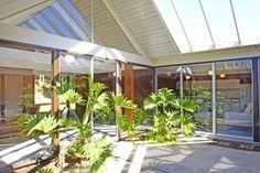 classic eichler home atrium