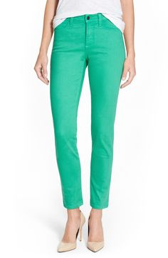 Free shipping and returns on NYDJ 'Clarissa' Colored Stretch Skinny Ankle Jeans (Regular & Petite) at Nordstrom.com. Fresh color updates contemporary, ankle-grazing skinny jeans. NYDJ's famously flattering fit is enhanced with exclusive lift-tuck technology to help flatten the tummy and lift the rear.