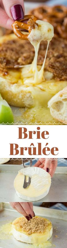 Brie Brûlée is my favorite fast and easy appetizer for parties and family get togethers!