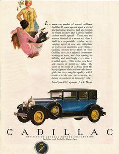 1927 Cadillac Ad