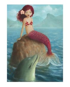 Mermaid and Dolphin -- Stephen Mackey