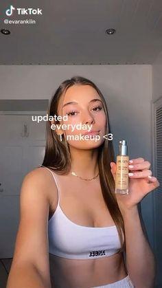 Cute Makeup Looks, Makeup Looks Tutorial, Makeup Eye Looks, Natural Makeup Looks, Pretty Makeup, Skin Makeup, Makeup Art, Beauty Makeup, Natural Glow Makeup