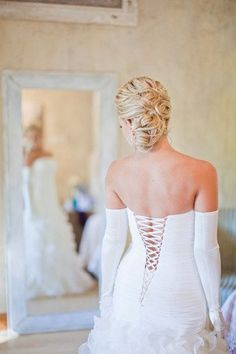 Find rustic wedding inspiration from this Handmade South African Rustic Wedding hosted at Die Akker in Pretoria. Rustic Wedding Inspiration, Green Cream, Beautiful Bride, One Shoulder Wedding Dress, Brides, Romance, African, Wedding Dresses, Handmade