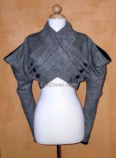 1933 Katharine Hepburn Jacket EvaDress Pattern