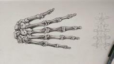 Atonomy sketch, hand bones, fineliner A3, Buddy Verstrepen Hand Bone, Medical Drawings, Gcse Art, Human Condition, Drawing Sketches, A3, Bones, Performing Arts, Dice