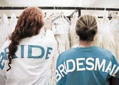 Perfect spirit jerseys tee for bride and her bridesmaids to wear while they get their hair and makeup done