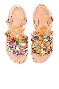 61ed03e04 Leather Astarte II Sandals Мода В Стиле Бохо, Модная Обувь, Женская Мода,  Кожаные