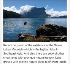 Seven Lakes Mountain-Jambi Indonesia.