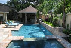 Water Garden Modern Pool New Orleans Ferris Land Design Richard Hymel