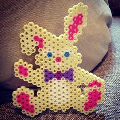 Easter bunny perler beads by zacbaran