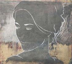 Risultati immagini per casper faassen Acrilic Paintings, Painting People, Abstract Portrait, Art Portfolio, Painting Techniques, Female Art, Line Art, Printmaking, Illustration Art
