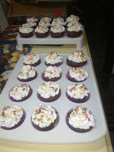 Cupcakes de Chocolate con buttercream y cajeta.