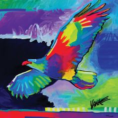 """""""Four Winds Lone Eagle"""" by Tim Yanke - Park West Gallery"""
