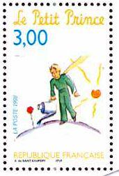 Literary Stamps: de Saint-Exupéry, Antoine (1900 - 1944)
