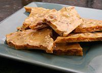 Pecan and Toasted Coconut Brittle