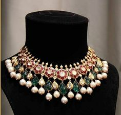 New ideas jewerly diamond indian design India Jewelry, Jewelry Sets, Indian Wedding Jewelry, Bridal Jewellery, Body Jewellery, Vintage Jewellery, Antique Jewelry, Fashion Jewellery Online, Gold Jewellery Design