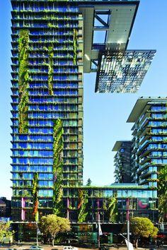 One Central Park, Redfern, 2013 - Johnson Pilton Walker, PTW Architects, Ateliers Jean Nouvel