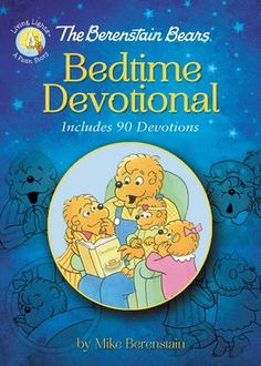 """Read """"The Berenstain Bears Bedtime Devotional Includes 90 Devotions"""" by Mike Berenstain available from Rakuten Kobo. Fans of the Berenstain Bears will enjoy this bedtime devotional. I****n this addition to the Living Lights™ serie. Good Books, My Books, Simple Artwork, Books For Self Improvement, Berenstain Bears, Christian Kids, Books For Teens, Teen Books, Bedtime Routine"""