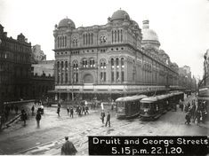 All sizes | Trams on George Street in front of the QVB | Flickr - Photo Sharing!