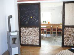 Raumteiler Wood Retro Alt