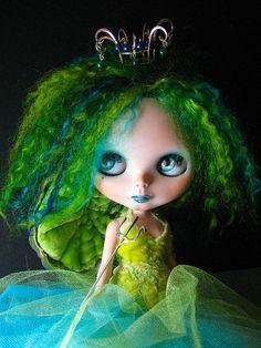 Mohair custom Blythe <3