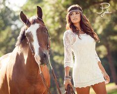 horse,dress,headband