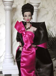 Opera Barbie is ready for opening night!