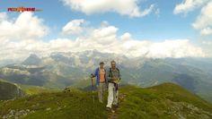 Con Lucía y Alfonso en Coriscao disfrutando de un buen día de #Senderismo  #PrimerAsalto  ;)  In Coriscao with Lucía and Alfonso, enjoying a great day of #Hiking #FirstRound #PicosdeEuropa ;)