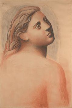 Pablo Picasso: Head of a Woman (1922) Metropolitan Museum of Art