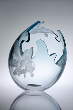 Image library - Miki Kubo - works in glass