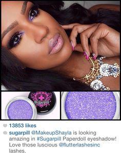 Black girl African American makeup