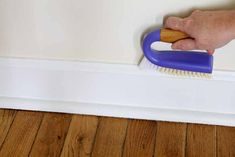 We have the best way to clean baseboards and keep them cleaner longer! Your house will never look the same! #cleaning #clean #cleaner #home #baseboards Diy Home Cleaning, Cleaning Items, Household Cleaning Tips, House Cleaning Tips, Diy Cleaning Products, Cleaning Solutions, Deep Cleaning, Spring Cleaning, Cleaning Hacks