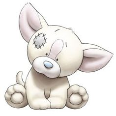 Pipsqueak the Chihuahua - Tatty Teddy Friends - love them Tatty Teddy, Teddy Bear, Cute Images, Cute Pictures, Animal Drawings, Cute Drawings, Baby Animals, Cute Animals, Image Deco