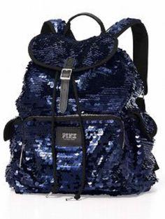 Victoria Secret PINK Navy Backpack