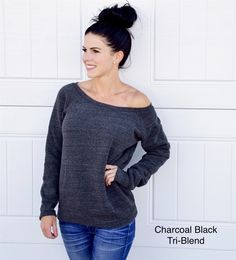 How cozy does this sweater look!? This is a must take home to really appreciate how soft it is!