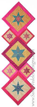 Runner featuring Stars by Sarah Vedeler Designs