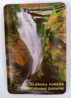 Pamiątkowy Magnes 3D Wodospad Szklarka Szklarska Poręba | Pamiątkowe Magnesy | Upominki24.com