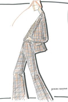 """""""Bits and pieces of Seventies-era Bianca Jagger, Nineties supermodels and horse-riding wardrobes are blended together to create a strong yet feminine look."""" — Jenni Kayne"""