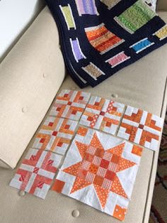 Northern Deb Quilts: Planning my next scrappy quilt