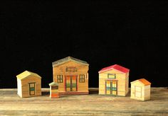 Vintage Shackman Nesting Houses Made in Japan by RedSableStudio, $22.00