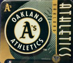 Oakland Athletics MLB Baseball Mouse Pad