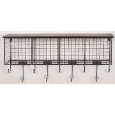 Linon 4 Cubby Wall Shelf & Reviews | Wayfair