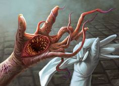 Grotesque Mutation - Shadows over Innistrad Art
