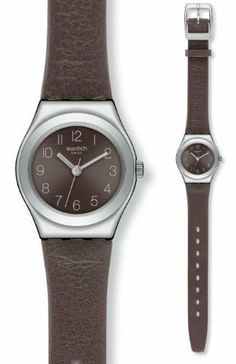 Swatch Smoothly Grey Women's Watch - YSS269 Swatch. $85.85. Analog Display. Water Resistant up to 30 Meters. Women's Watch. 2012 Spring/Summer Collection. Stainless Steel and Leather