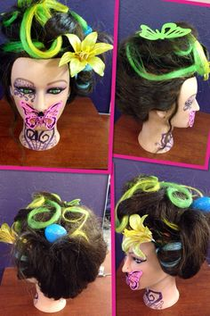 Spring fantasy hairstyle